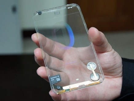 أول موبايل شفاف في العالم