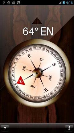 حمل تطبيق البوصلة  للأندرويد Hi Compass – Android