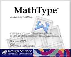 تحميل مجانا برنامج خاص بالمعادلات الفيزيائية والرياضية Mathtype 6.8 أحدث إصدار