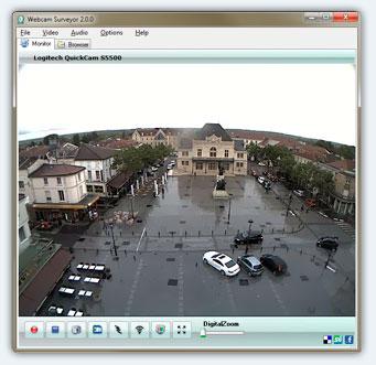 تحميل برنامج المراقبة عن طريق كاميرا الويب Webcam Surveyor