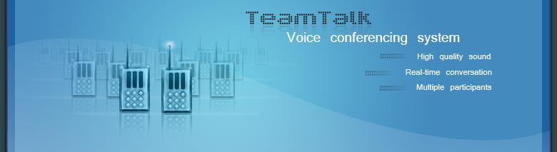 تحميل برنامج TeamTalk 4.6.0.2927بأحدث إصدار مجاناً