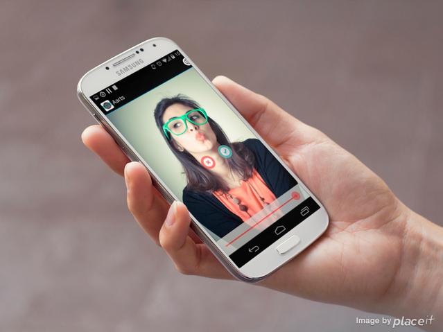 كيفية إنشاء GIF فيديو كليب على جهاز الأندرويد Android  الخاص بك باستخدام  Aarts