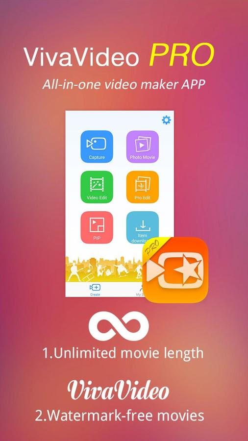 تحميل برنامج   VivaVideo 3.1.5 ،، نسخة مطورة من المرح والتسلية والسهولة لمحرر الفيديو خاص بـ Android