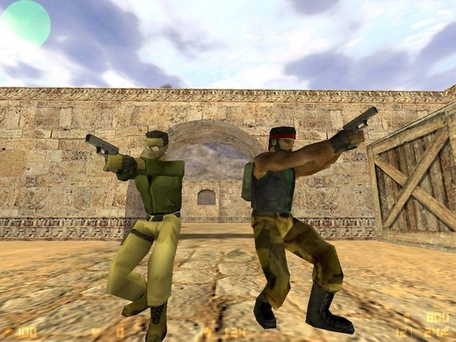 تحميل لعبة الإثارة والتشويق بأحدث إصدار Counter Strike 1.6.0
