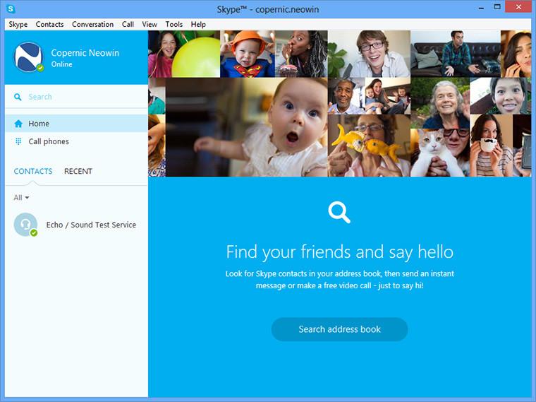 تحميل برنامج الشات Skype 6.22.81.105  بأحدث إصدار،، تمتع بالمحادثة الصوتية السريعة عبرة سكاي بي