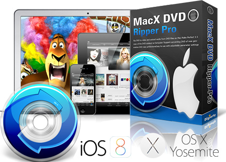 تحميل برنامج MacX DVD Ripper Pro 4.5.7  المجزئ لبرامج الملتيميديا وبرامج الفيديو ،، تحكم كيفما تشاء بالملف الصوتي الخاص بك