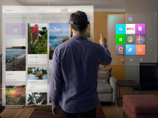 مفاجأة مايكروسوفت لعام 2015، Hololens حلم من الخيال العلمي