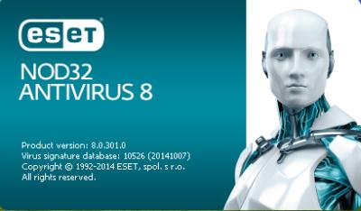 تحميل أقوى برامج مكافحة الفيروسات  ESET NOD32 Antivirus 8  بإصداره الجديد