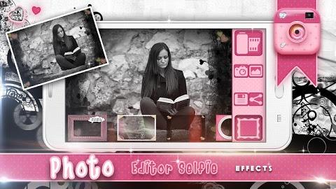 تحميل برنامج Photo Editor-Selfie Effects  الرائع لتحسين الصور وإظهارها بأبهى صورة للAndriod