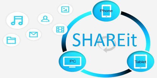تحميل برنامج SHAREit  لمشاركة الملفات والصور عبر الموبايل دون الحاجة للانترنت