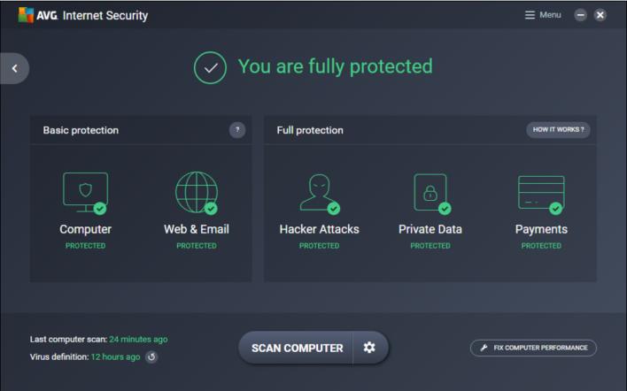 تعرف على المميزات الرائعة لبرنامج AVG Internet Security Unlimited لمكافحة الفيروسات والبرامج الضارة لعام 2017