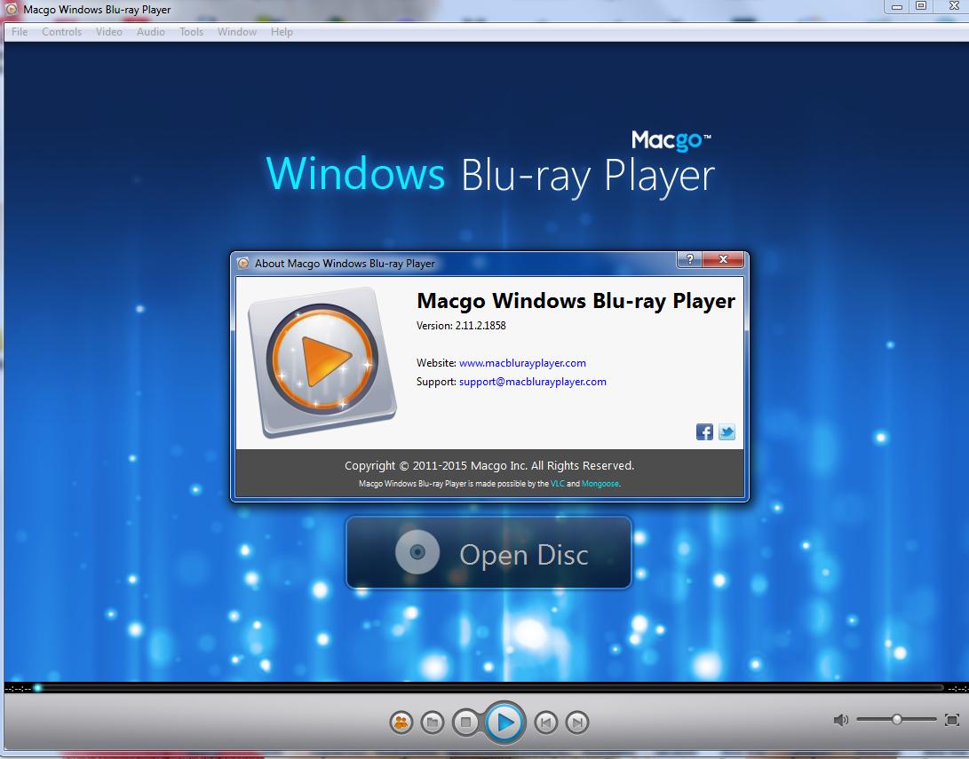 تحميل برنامج  Macgo Windows Blu-ray Player 2.17.2 المميز لللفيديو مجاناً 2017 وبأحدث إصدار