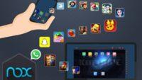 تحميل برنامج  Nox App Player 3.8.3.1 لتشغيل ألعاب وتطبيقات الموبايل على جهاز الكمبيوتر بأحدث إصدار 2017 ومجانا