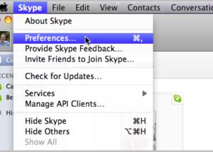 الدرس الأول: كيف يمكنك إدارة إعدادات الخصوصية في سكايب لنظام التشغيل ماك Mac OS X