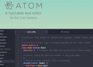 تحميل تطبيق Atom الرائع لتحرير النصوص وأداة رائعة للبرمجين مجانا وبأحدث إصدار