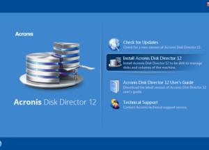 تحميل برنامج Acronis Disk Director الرائع لتسهيل إدارة الأقراص وتقسيم الحجوم مع العديد من المهامات مجانا 2018