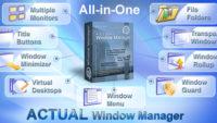 تحميل برنامج Actual Transparent Window 8.12 لتحسين خصائص سطح المكتب ولتسهيل بأحدث إصدار