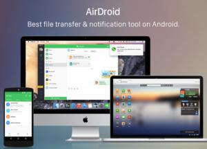 تحميل   AirDroid 3.6.2.0 الرائع للأندرويد وللماك Mac بأحدث إصدار 2018