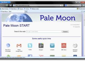 تحميل متصفحPale Moon 28.2.0  المدهش بأحدث إصدار 2018