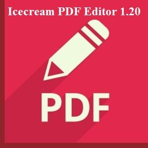 تحميل برنامج Icecream PDF Editor 1.20 2019