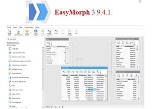 تحميل برنامج EasyMorph 3.9.4.1 المميز لمعالجة البيانات وتحليلها بسرعة فائقة 2019